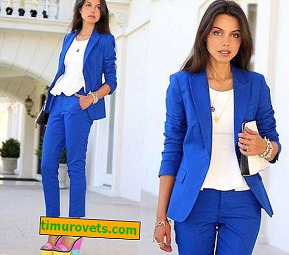 Kaj obleči z modro jakno