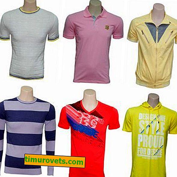 Arten von T-Shirts