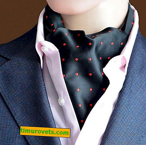 Sådan binder du et halsdæk til en mand under en skjorte