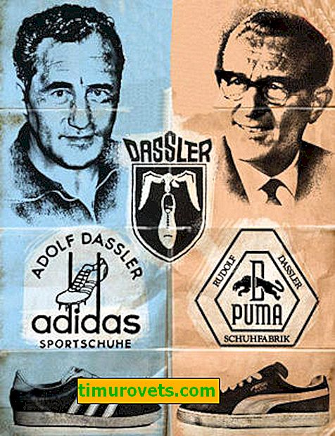 Brother to brother: Adidas or Puma