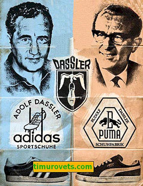 Broder til bror: Adidas eller Puma
