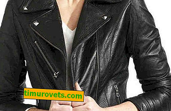 How to distinguish leather from faux leather on a jacket