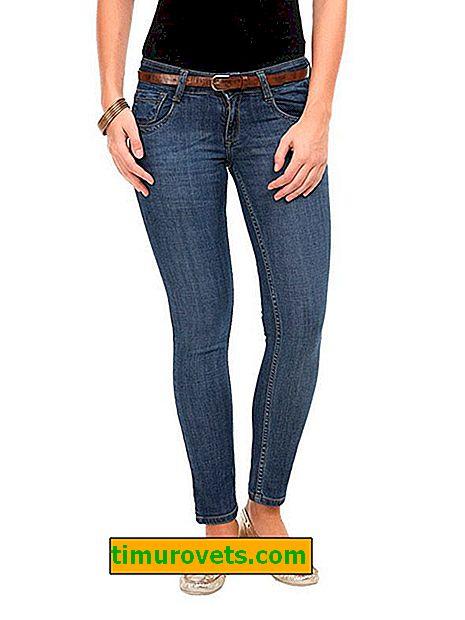 Каква е разликата между кльощави и тънки дънки