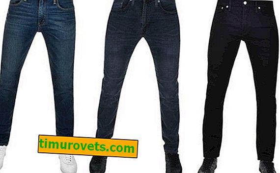 Cómo deben sentarse los jeans