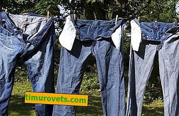 Hvordan du raskt tørker jeans etter vask