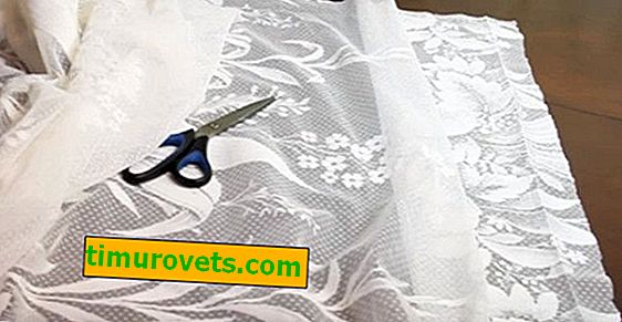 How to cut a tulle evenly