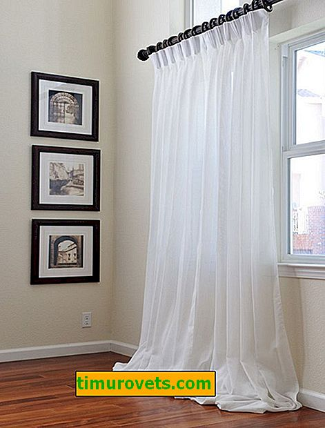 How and what to bleach curtains at home