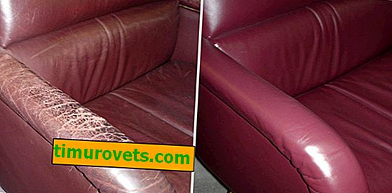 What to do if cracked leatherette on a sofa or jacket