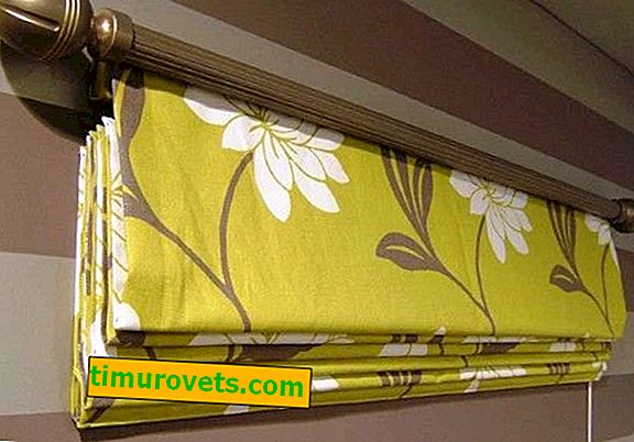 How are Roman blinds fastened?