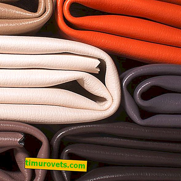 The difference between eco-leather and artificial leather and leatherette
