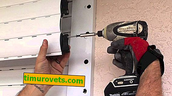 Как да инсталирате ролетни щори