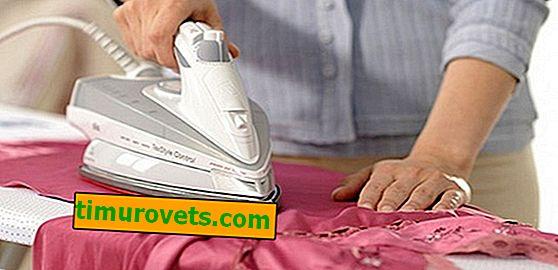 Cómo planchar seda