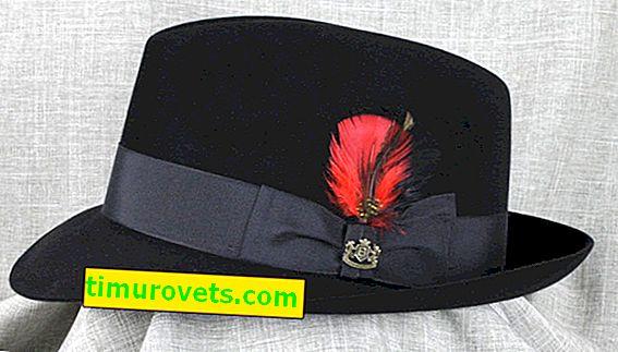 Как да почистите шапка от филц