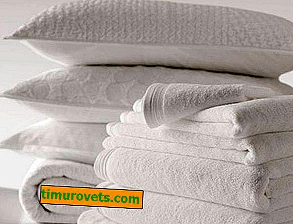 Kako izbjeljivati posteljinu kod kuće