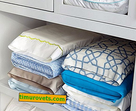 How to fold bedding
