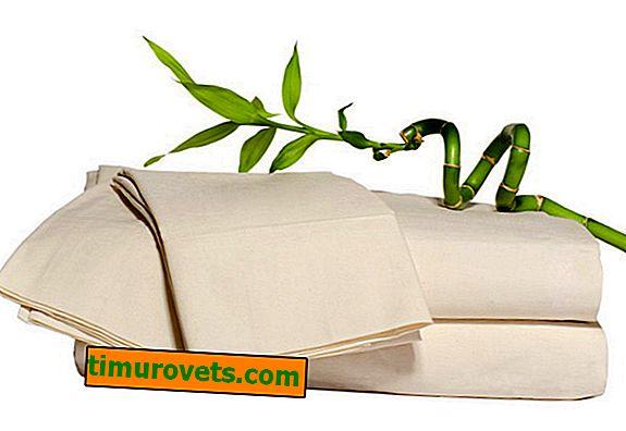 Roupa de cama de bambu, considere que tipo de material