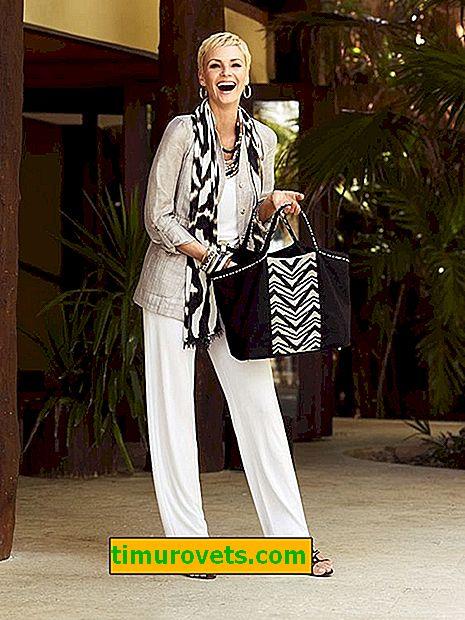 Основен гардероб за лятото за жена над 50 години