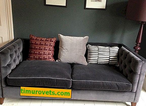 Как и как да почистите велурен диван