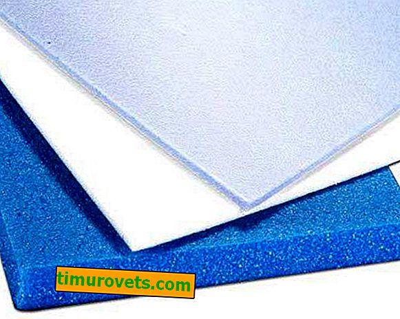 Polyester et polyéthylène - différences de matériaux