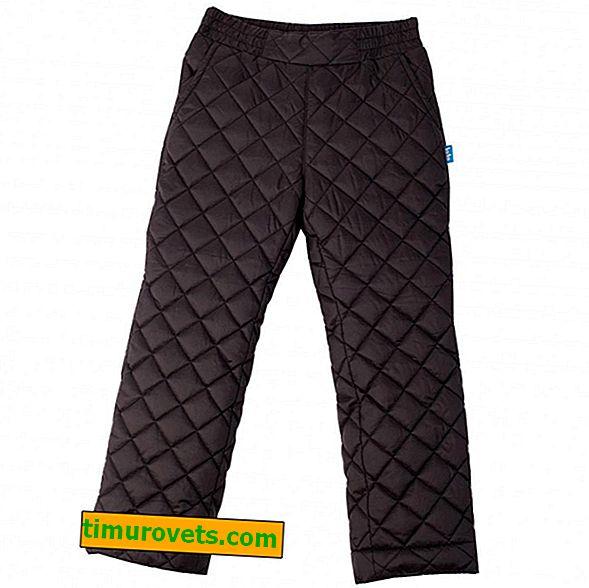 Pantalon chaud femme sur un rembourrage polyester 100% polyester