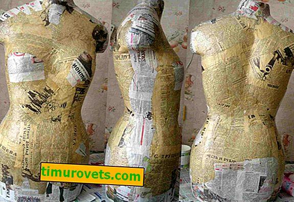 Comment faire un mannequin en papier mâché