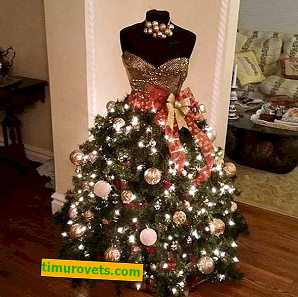 DIY Noel ağacı manken