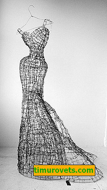How to make a mannequin from a wire with your own hands