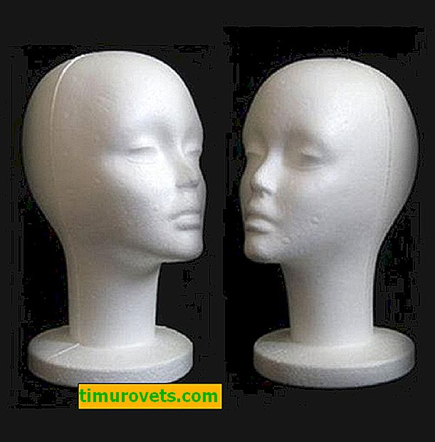 How to make a mannequin head