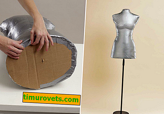 How to make a mannequin with your own hands at home