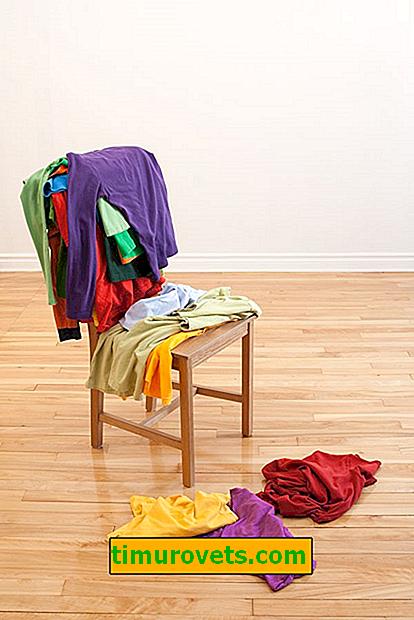 Dlaczego ubrania nie powinny być zawieszane na oparciu krzesła: znaki, estetyka, pielęgnacja