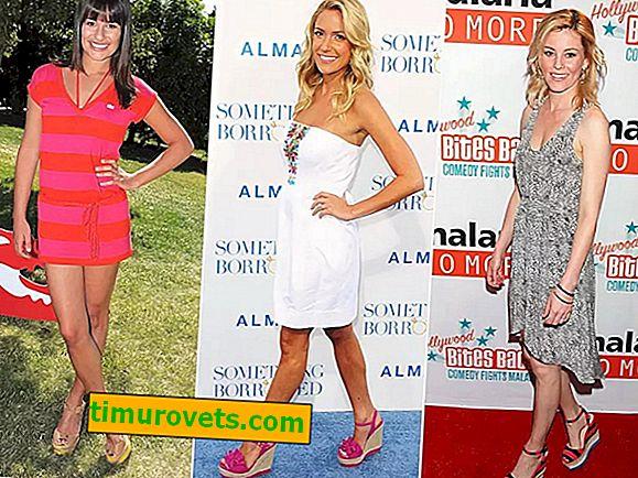 Wedge Stars: Pourquoi les célébrités aiment ces chaussures