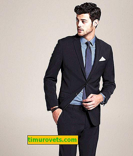 Biznesowy strój dla mężczyzn