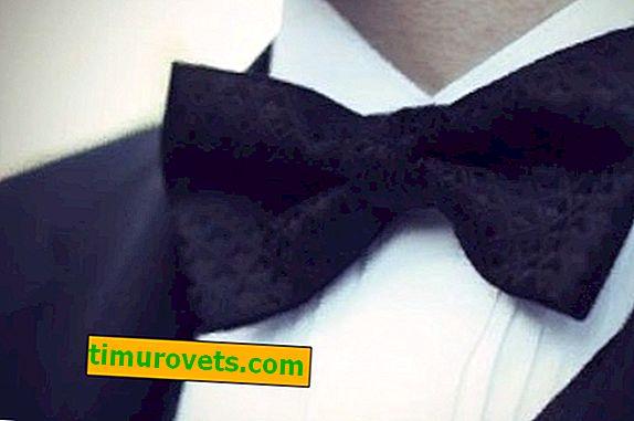Черна вратовръзка за мъже