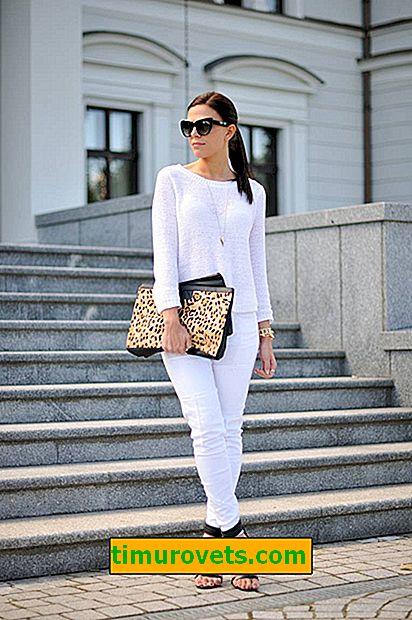 Jak nosit bílé