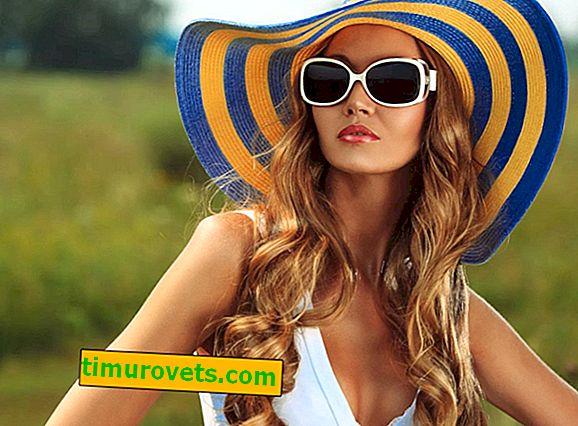 Stupeň ochrany slunečních brýlí