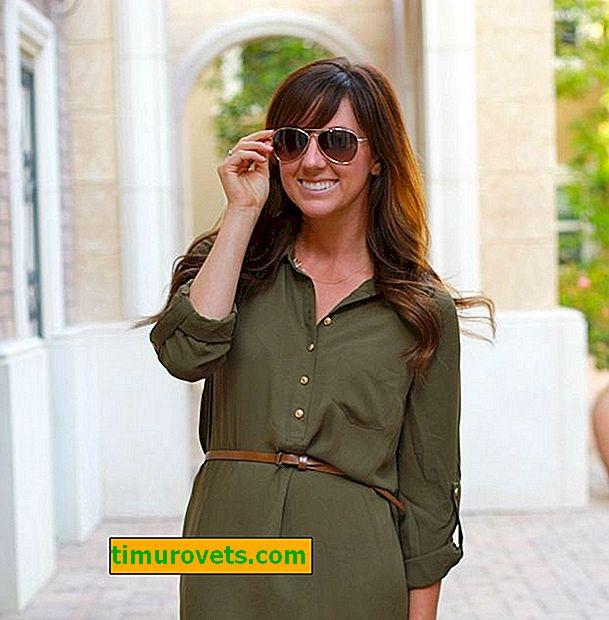 Kjole-shirt mønster: smart sommer kjole