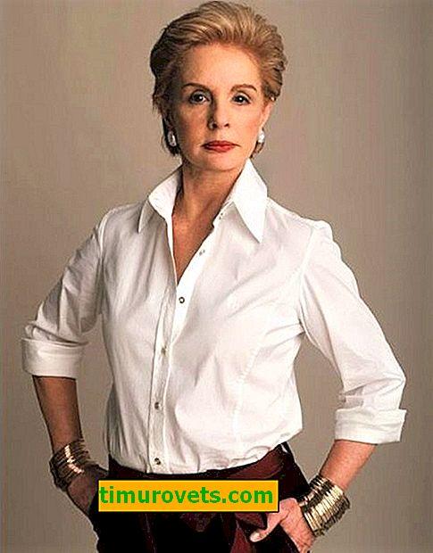 Hvordan man bærer en hvid skjorte til en kvinde over 50 år