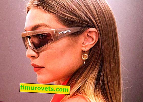 Странен производител на очила Vogue