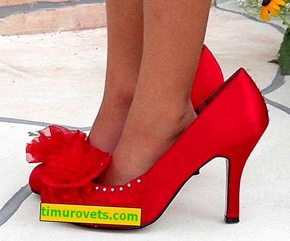 Как да носите обувки с размер по-голям?