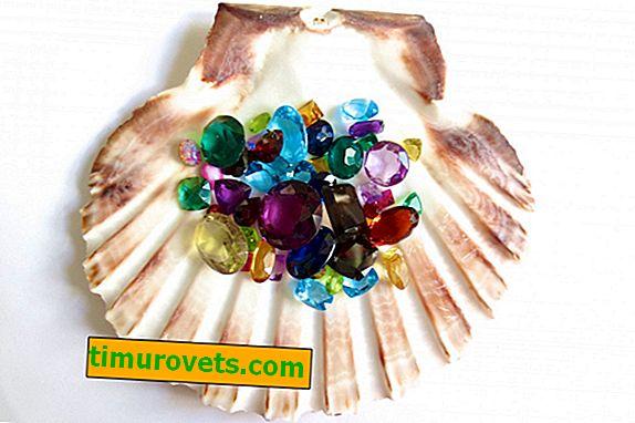 Lo que afecta el color de la piedra en la joyería.