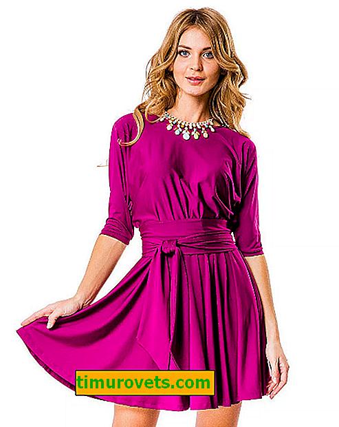 How to combine a fuchsia dress?