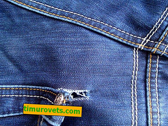¿Cómo coser un agujero en el bolsillo de los jeans?