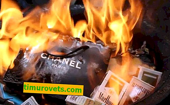 Burn it with fire!  Why do luxury brands burn the rest of the collection?