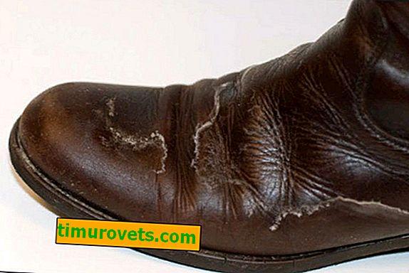 Kako ukloniti sol s kožnih cipela?