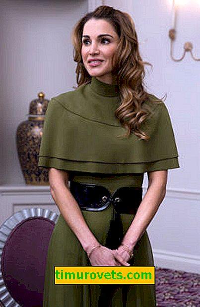 Mulher De Luxo 48 Anos Rainha Da Jordania Rania