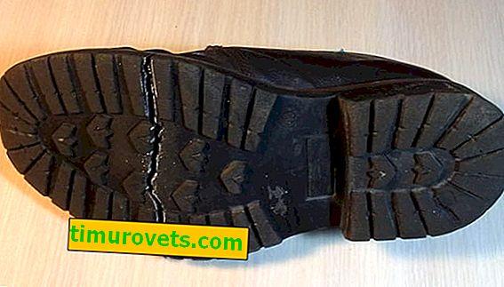 Как да залепите подметката на обувките у дома