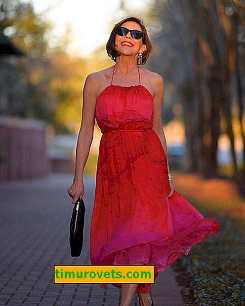 Jak a co nosit červené po 50
