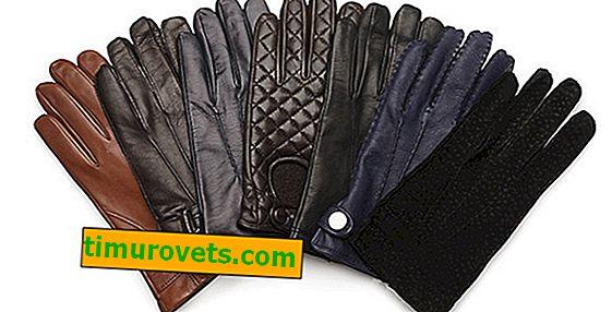 Как да определите размера на ръкавиците