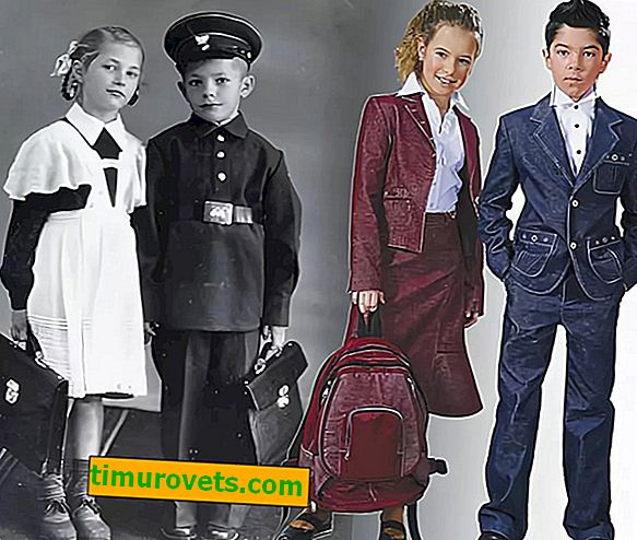 Skoleuniform til sovjetiske barn: bedre eller dårligere enn dagens