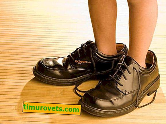 Što učiniti ako su cipele velike